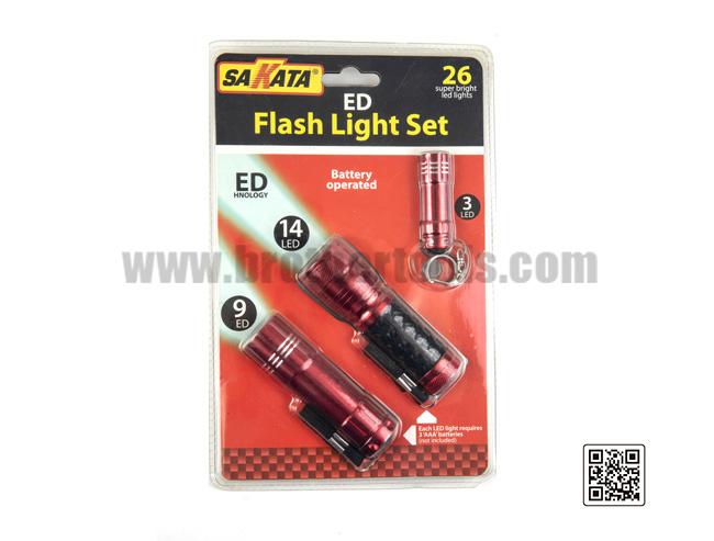 Conjunto de linterna LED