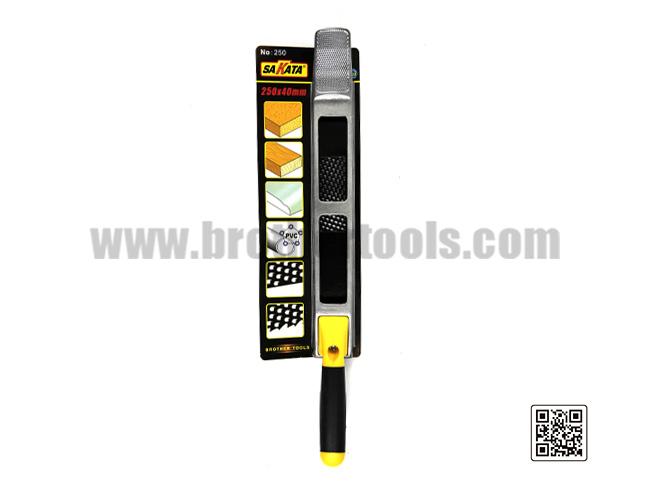 Cepillo de madera sakata 250x40mm 7
